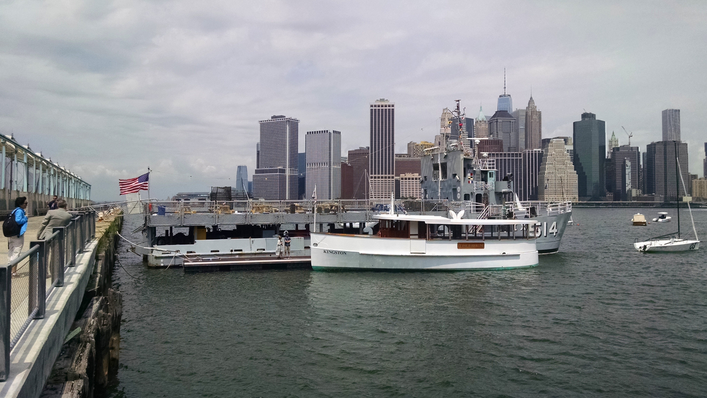 Brooklyn Waterfront Cruise Aboard Classic Yacht Kingston $32.40 ($54 value)
