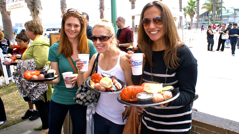 Redondo Beach Lobster Festival: Music, Craft Beer, Beach, Sand & Fun $6.00 ($15 value)
