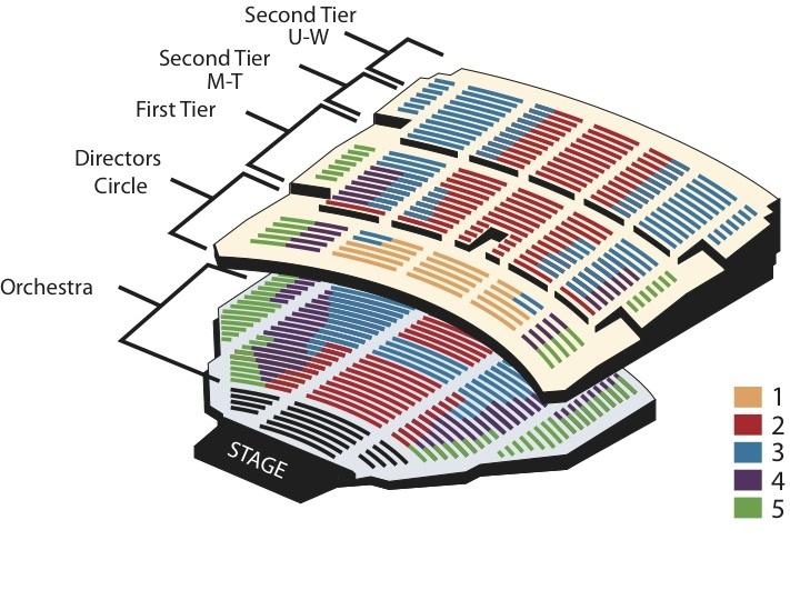 Benedum center pittsburgh tickets schedule seating charts goldstar