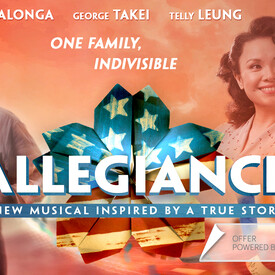 "Lea Salonga and George Takei in New Broadway Musical ""Allegiance"