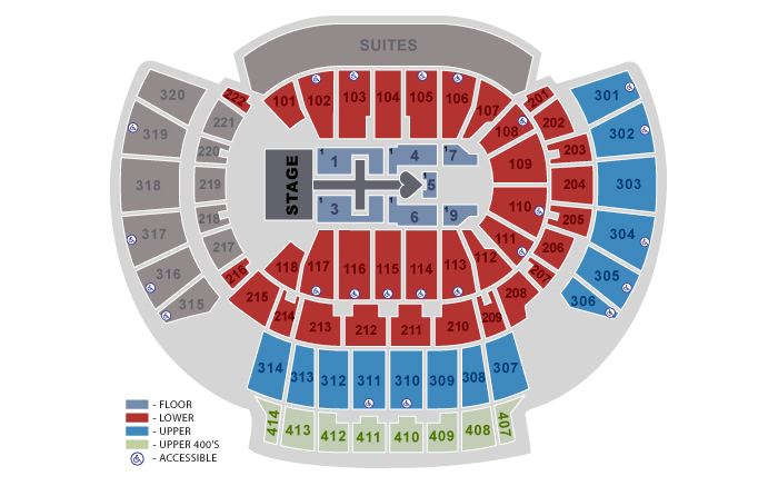 State farm arena atlanta ga tickets schedule seating charts