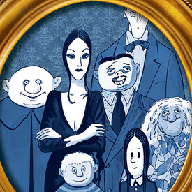 "The Addams Family"": A New Musical Comedy"