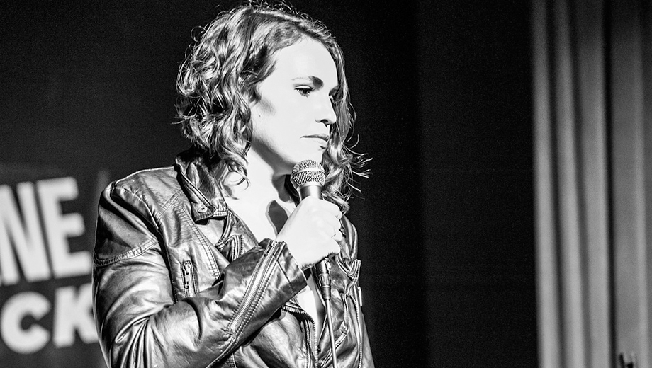 Comedian Beth Stelling (