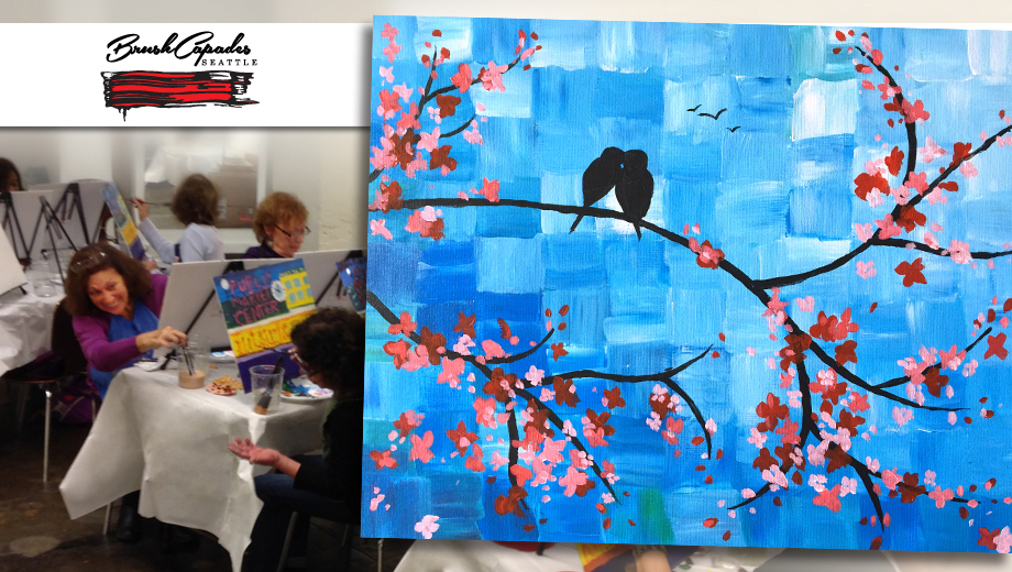 1442265855 wine and paint party cherry blossoms tickets