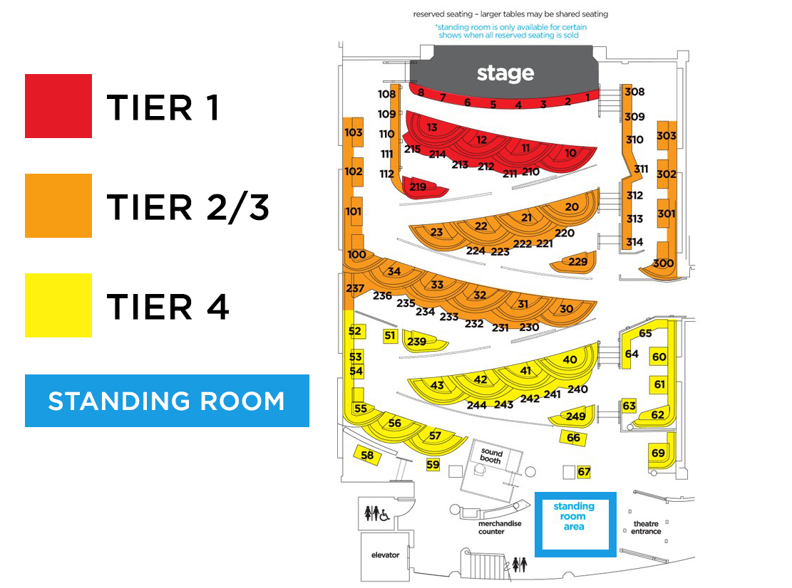 The triple door seattle wa tickets schedule seating charts