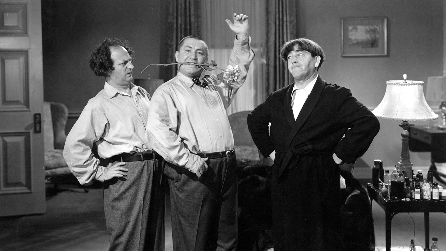 Three Stooges Festival: Comic Mayhem at the Alex Theatre $8.00 ($16 value)