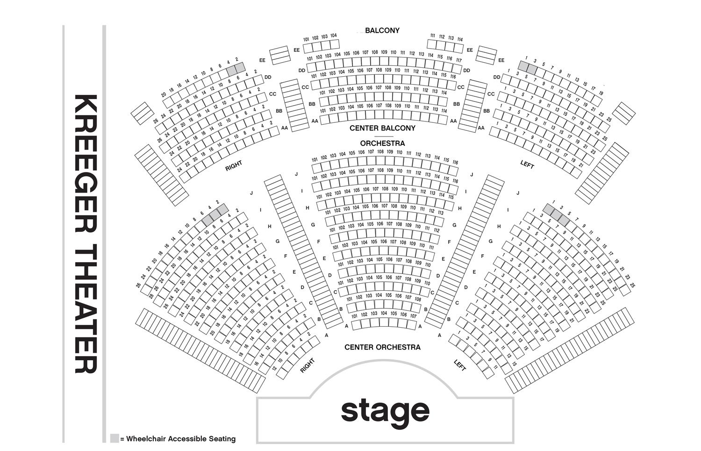 Arena stage kreeger theater washington d c tickets schedule