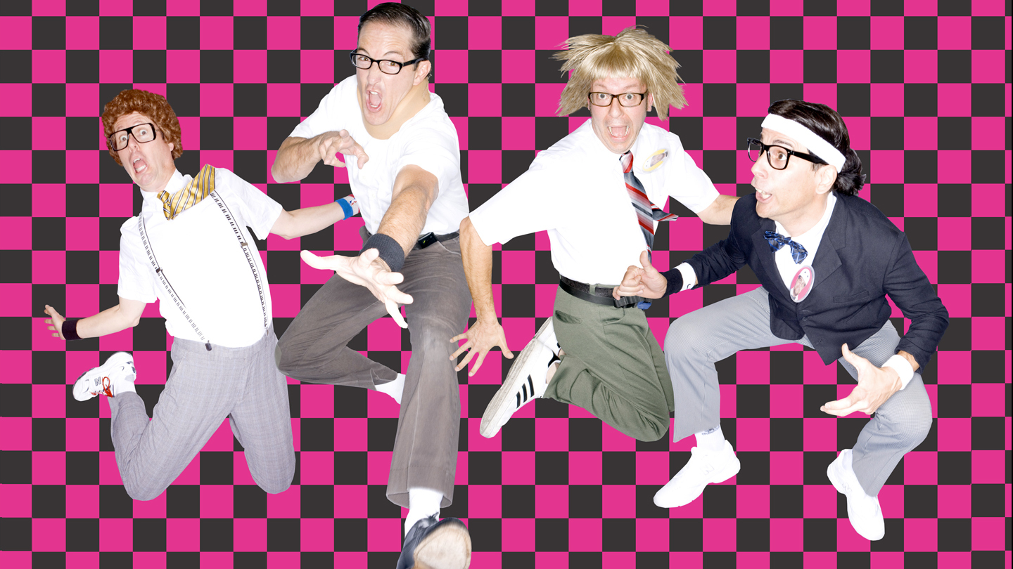 The Spazmatics: '80s New Wave Cover Nerds $13.75 ($23.5 value)
