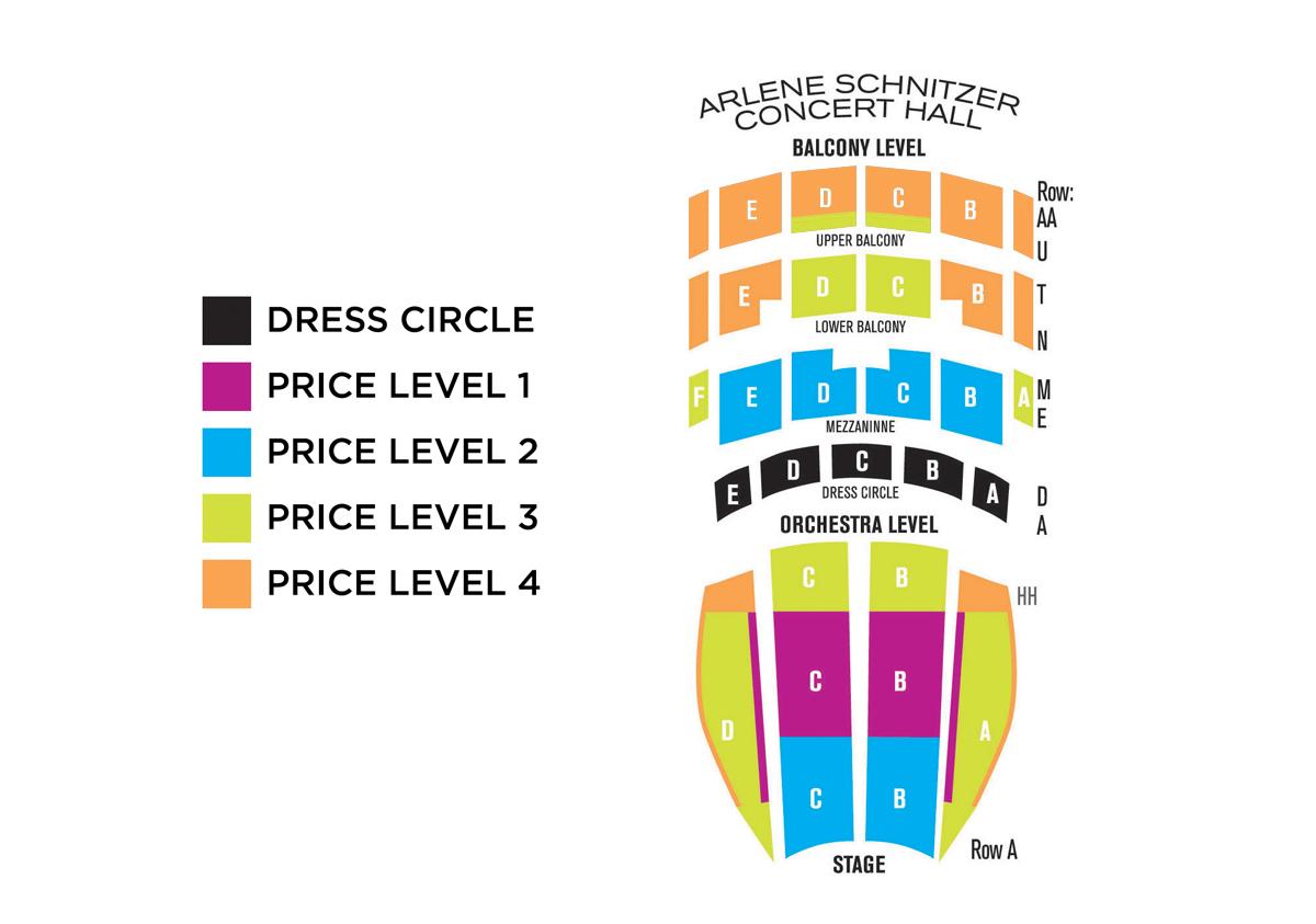 Arlene Schnitzer Concert Hall Portland Tickets Schedule Seating - Schnitzer concert hall