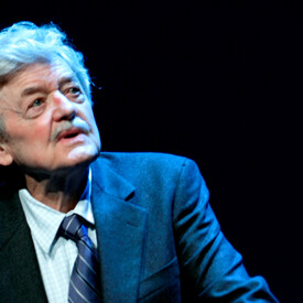 Alley Up Close With Hal Holbrook
