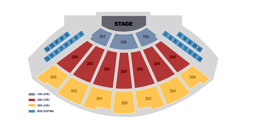 R And B Live Seating ...