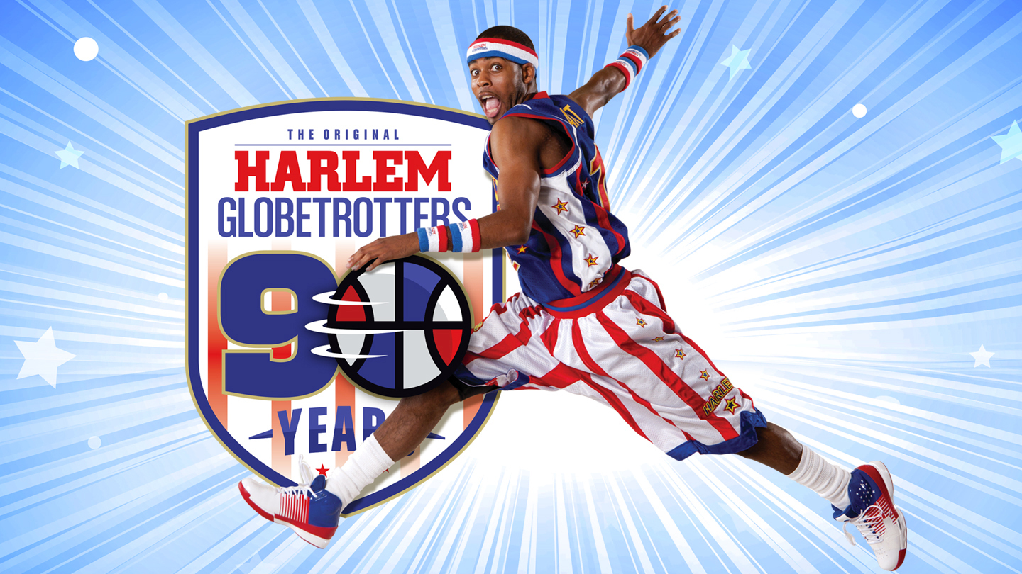 Harlem Globetrotters: World-Famous Basketball Team's 90th Anniversary World Tour $23.00 - $42.00 ($40.5 value)