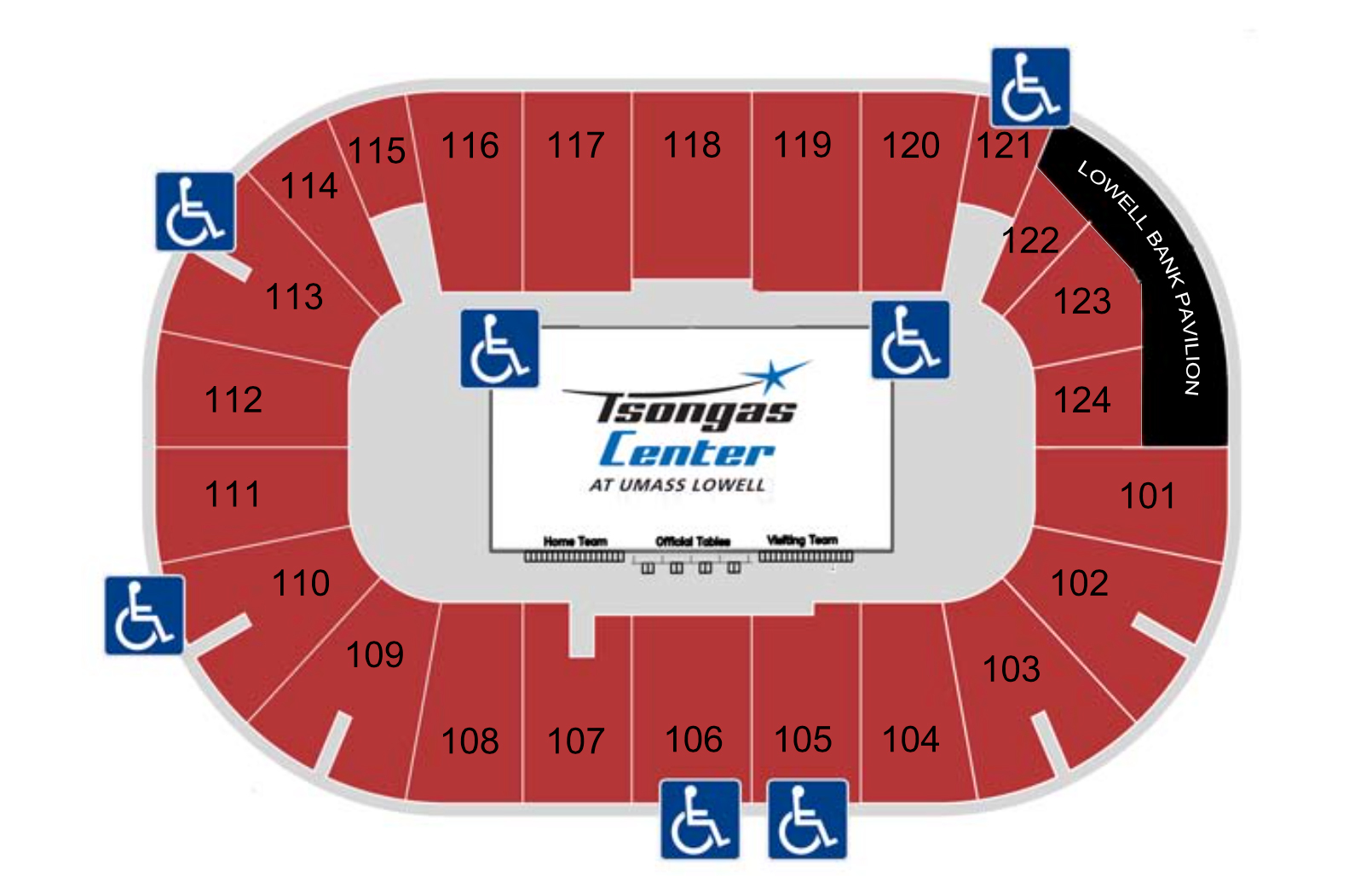 Tsongas center boston tickets schedule seating charts goldstar