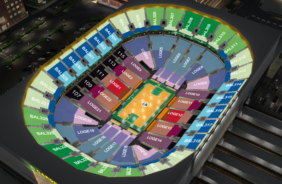 Attractive TD Garden Seating Chart ...