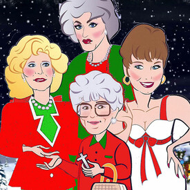 "Golden Girls Live On Stage: ""The Lost Christmas Episode"