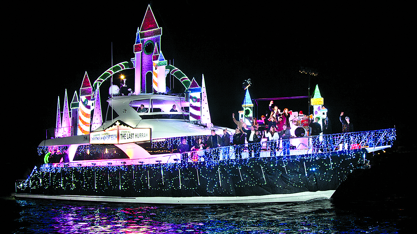Christmas Boat Parade Cruise: Newport Harbor's Sparkling Boats, Homes, Docks & More $5.00 - $28.00 ($10 value)