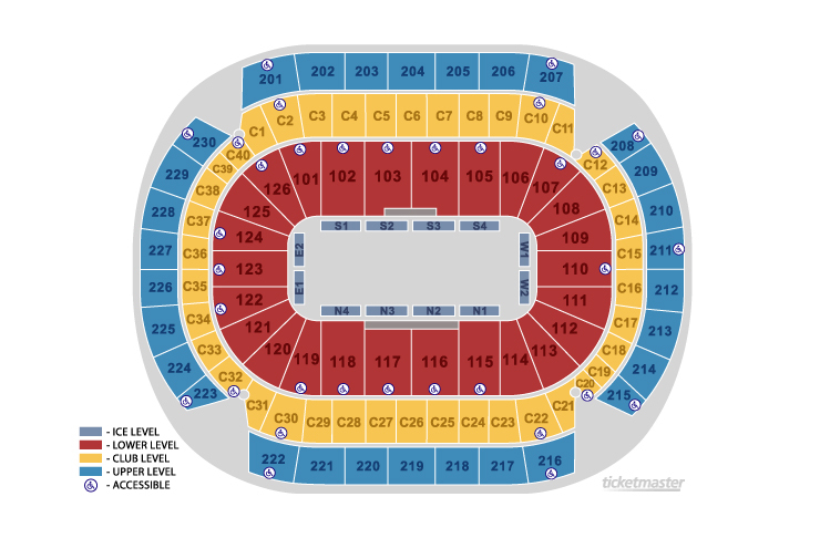 Xcel Energy Center, Minneapolis-St. Paul: Tickets, Schedule, Seating ...