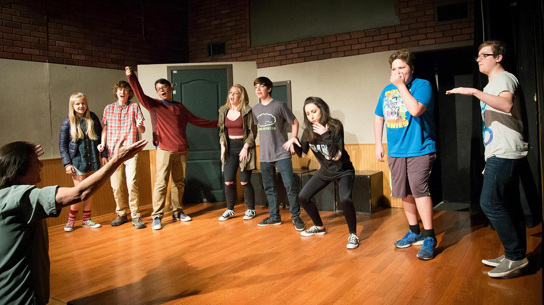 Improv Comedy For Kids by Teens | Burbank, CA | LA Connection Comedy Theatre | December 9, 2017