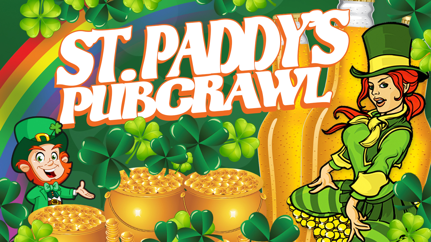 St. Patrick's Day Pub Crawl of Hoboken's Best Bars & Clubs COMP - $5.00 ($10 value)