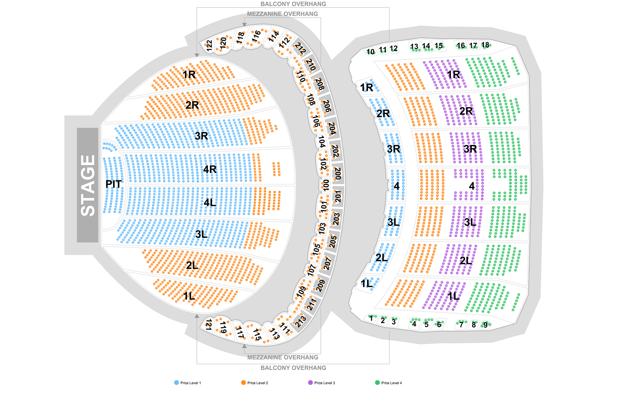 The chicago theatre chicago tickets schedule seating charts