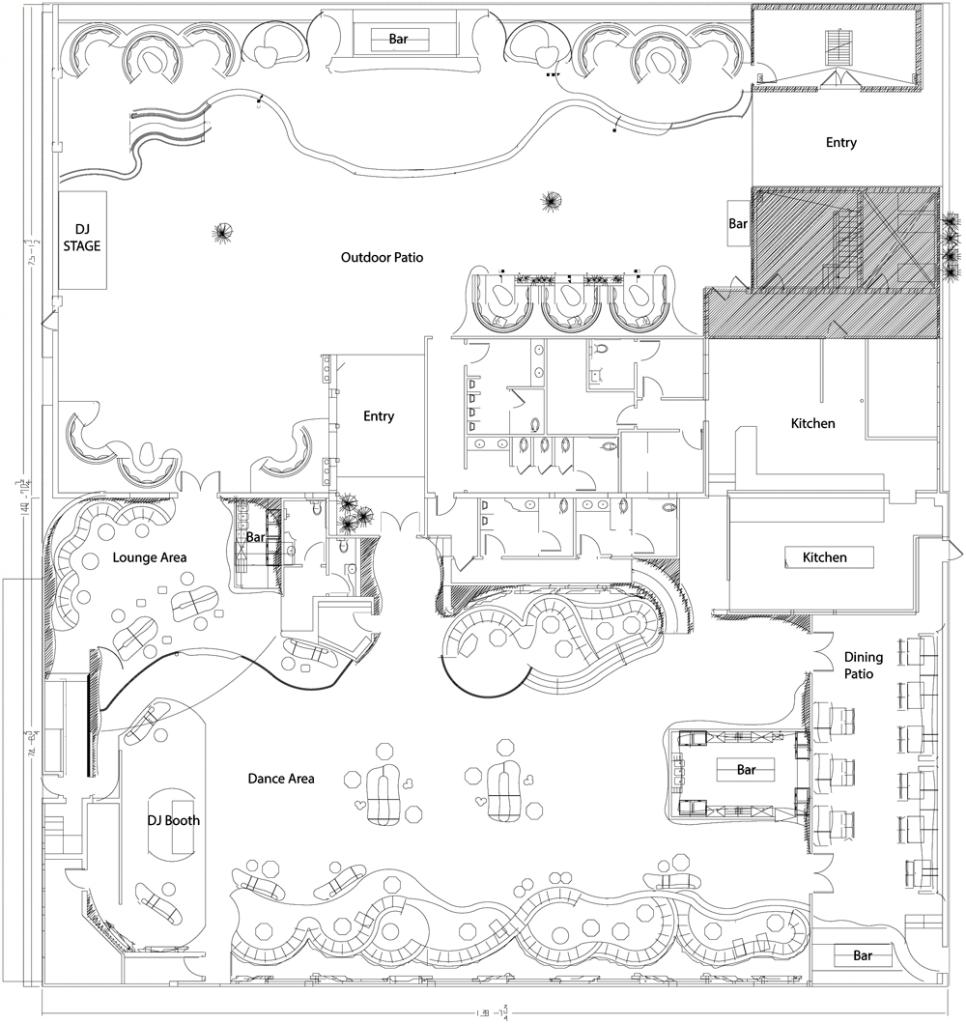 nightclub floor plan u2013 gurus floor