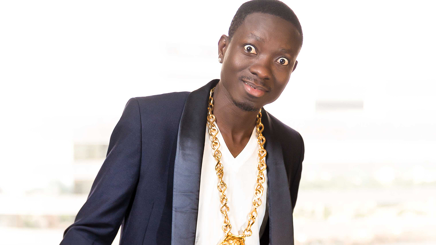 Comedian Michael Blackson (