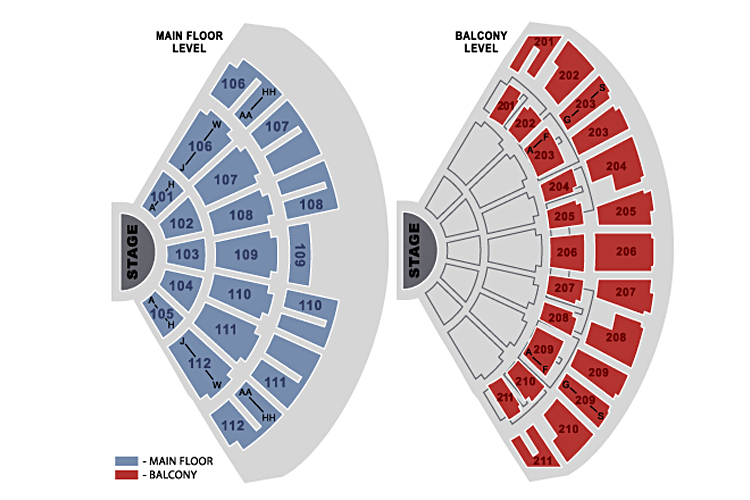 Rosemont theatre chicago tickets schedule seating charts goldstar