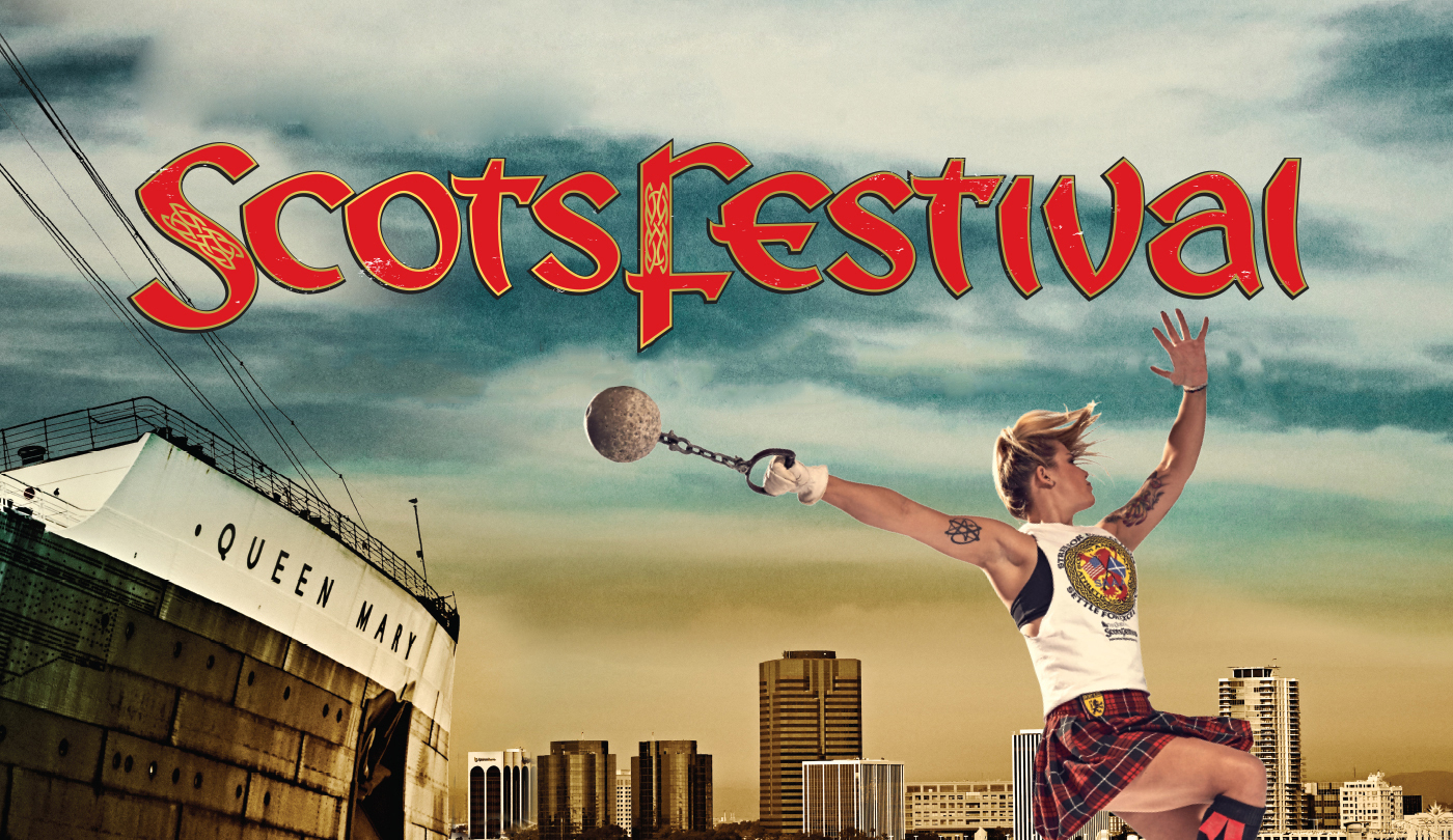 Highland Games and Scottish Music at Queen Mary's ScotsFestival and