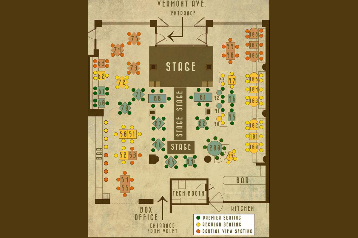 Rockwell Table Stage Los Angeles Ca Tickets Schedule Seating