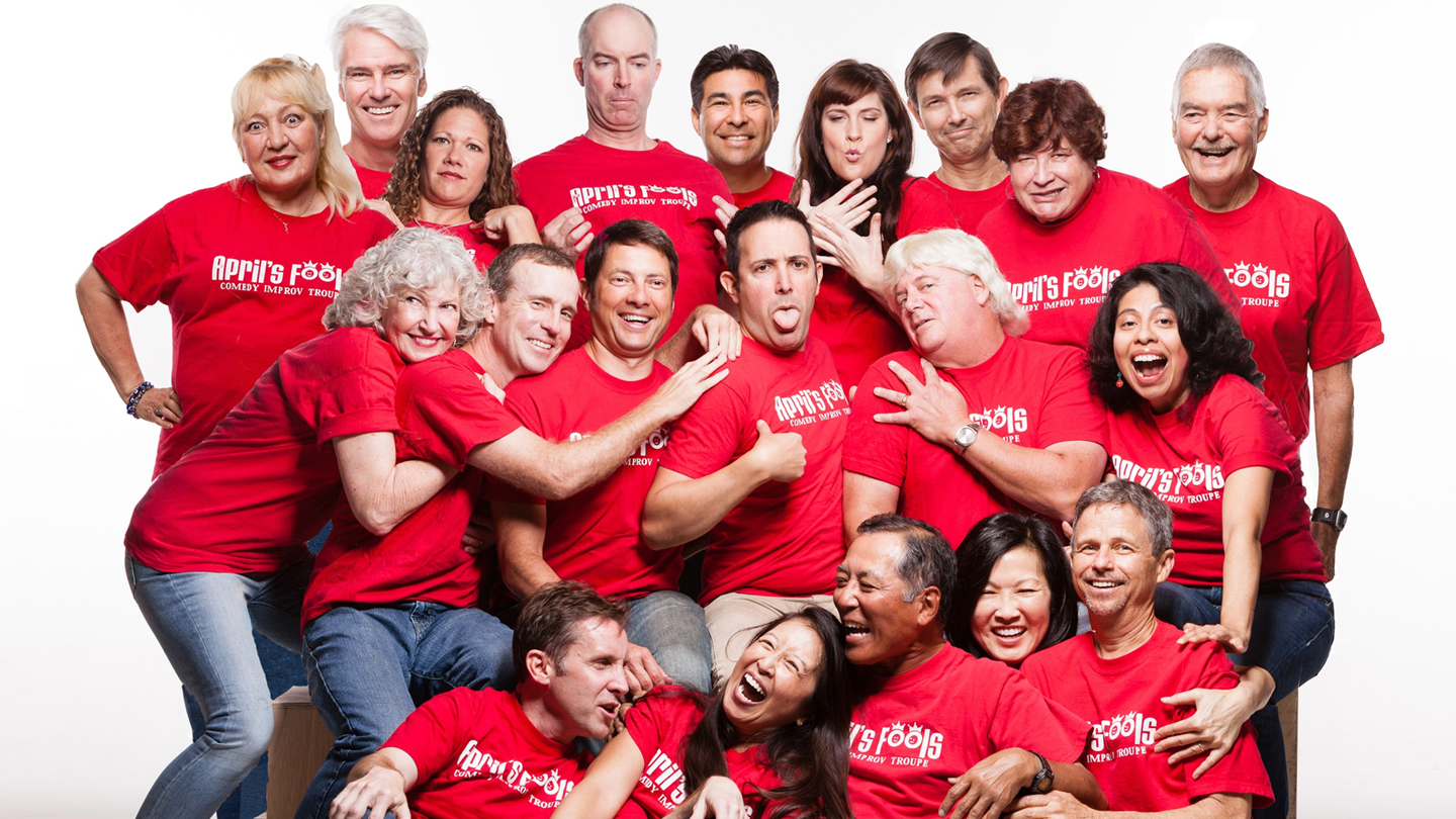 On-the-Spot Comedy From April's Fools Improv Troupe COMP ($8 value)
