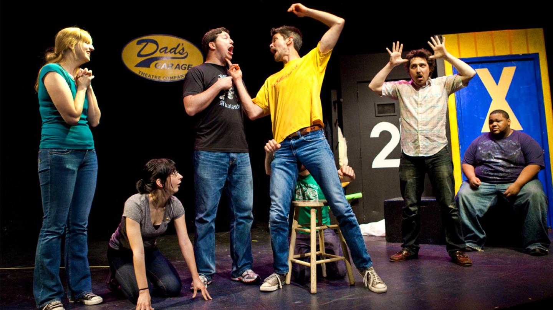 Improv Comedy From Dad's Garage Theatre Company $5.00 ($10 value)