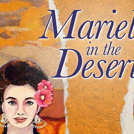 Mariela in the Desert