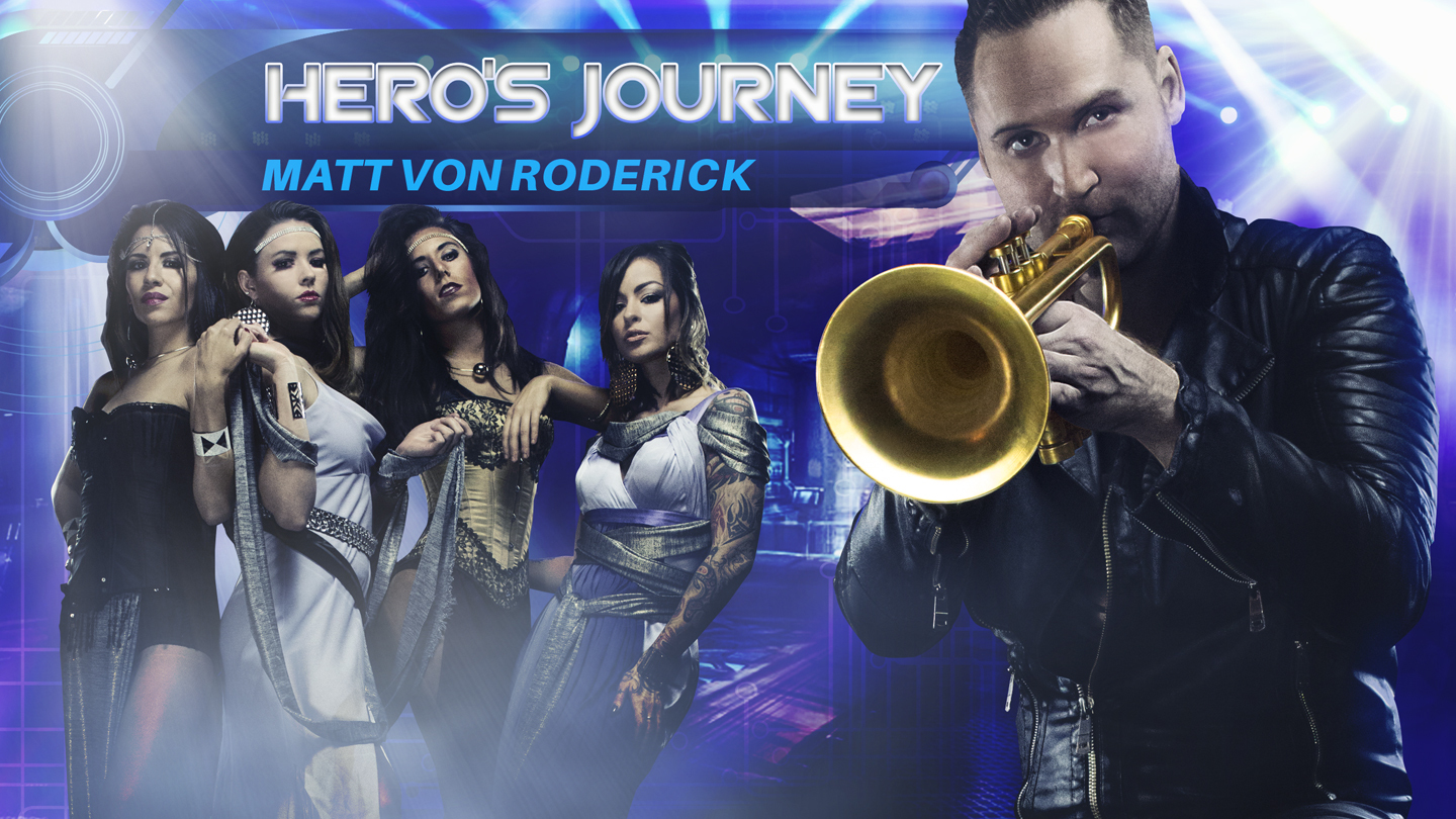 Jazz-Rock Trumpet Star Matt Von Roderick's Immersive New Stage Show $15.00 ($30 value)