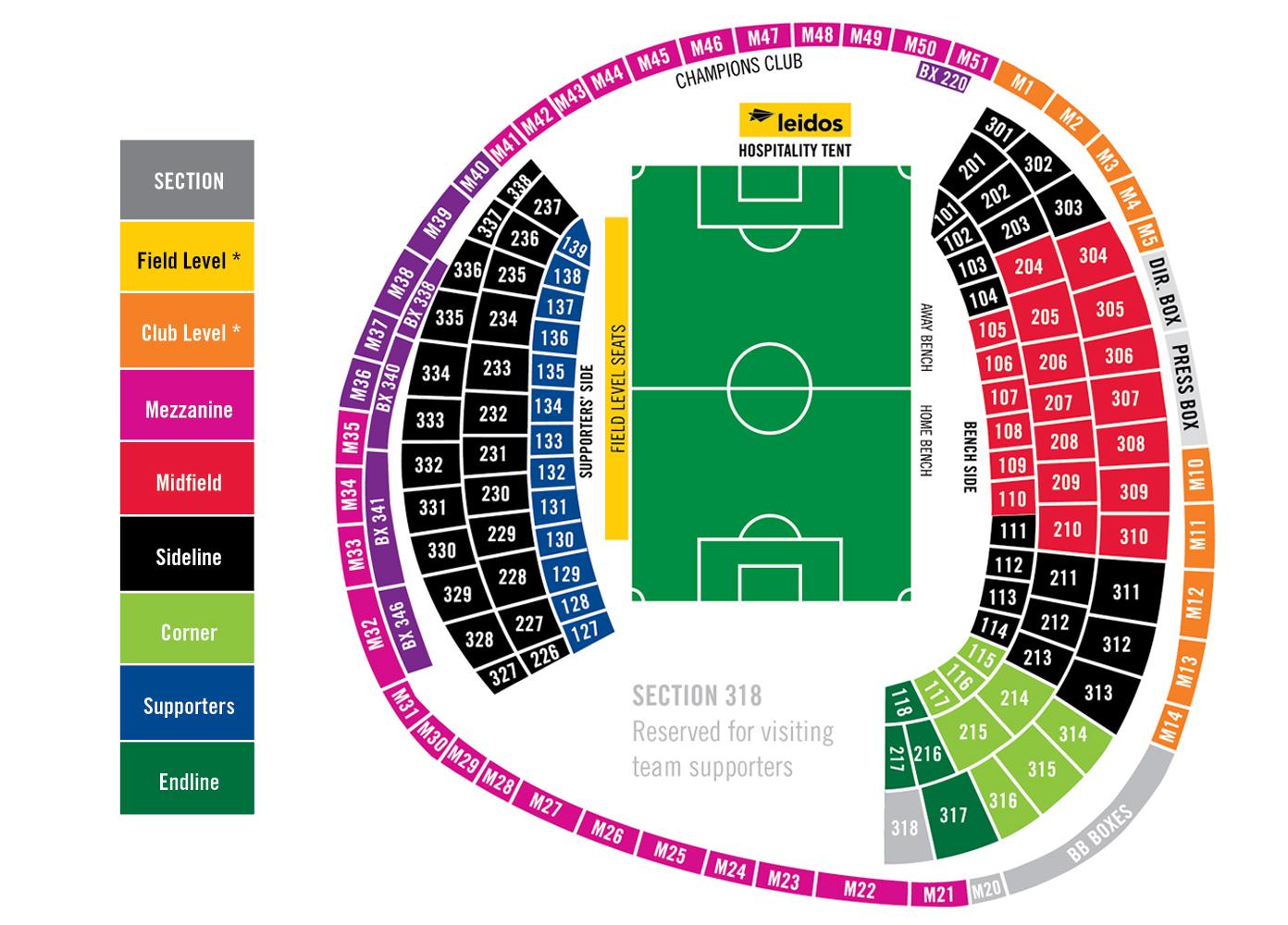 Rfk stadium washington dc tickets schedule seating charts