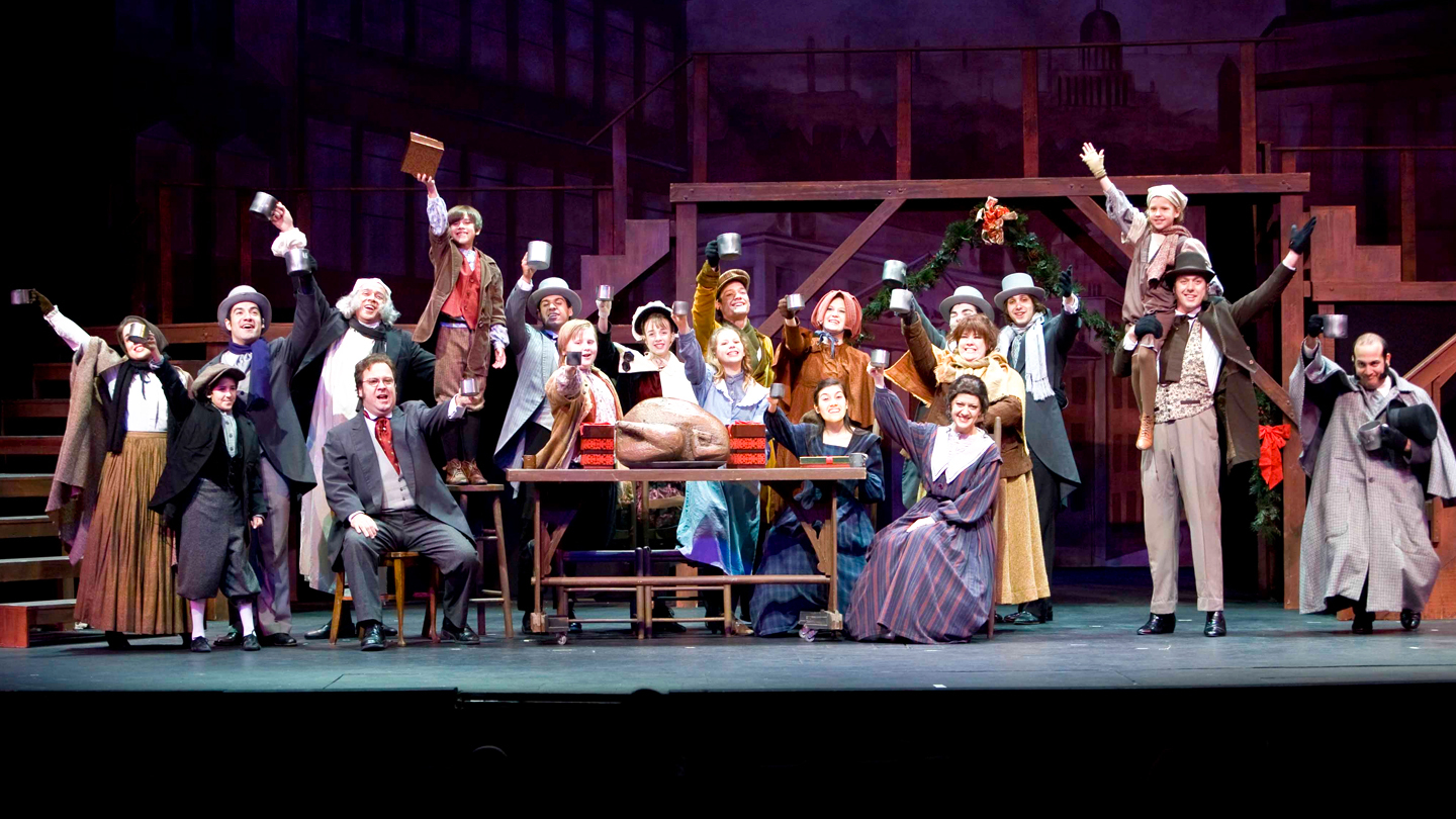 Image result for the christmas carol the musical actors playhouse miami