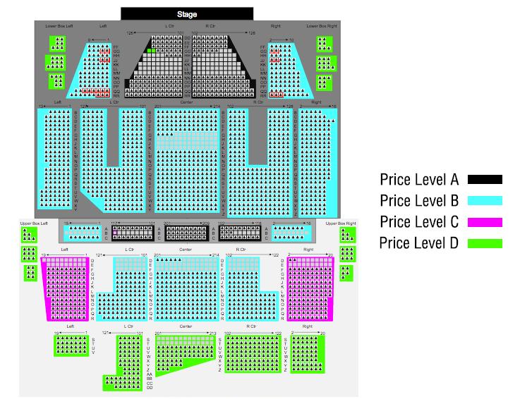 Orpheum theatre boston tickets schedule seating charts goldstar