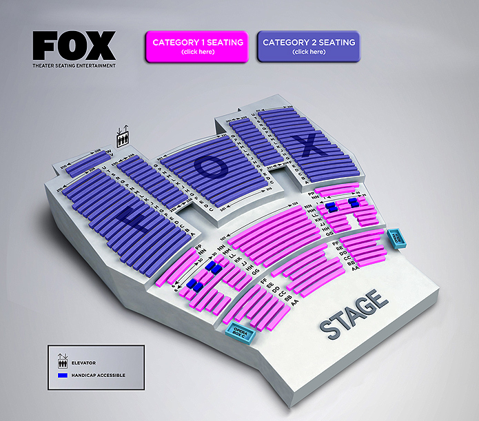 Fox theater at foxwoods hartford tickets schedule seating