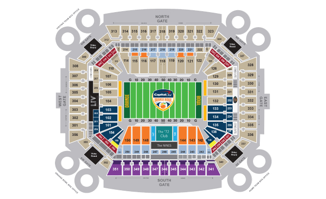 Hard Rock Stadium Miami Ft Lauderdale Tickets Schedule: Map Of Miami Dolphins Stadium At Usa Maps