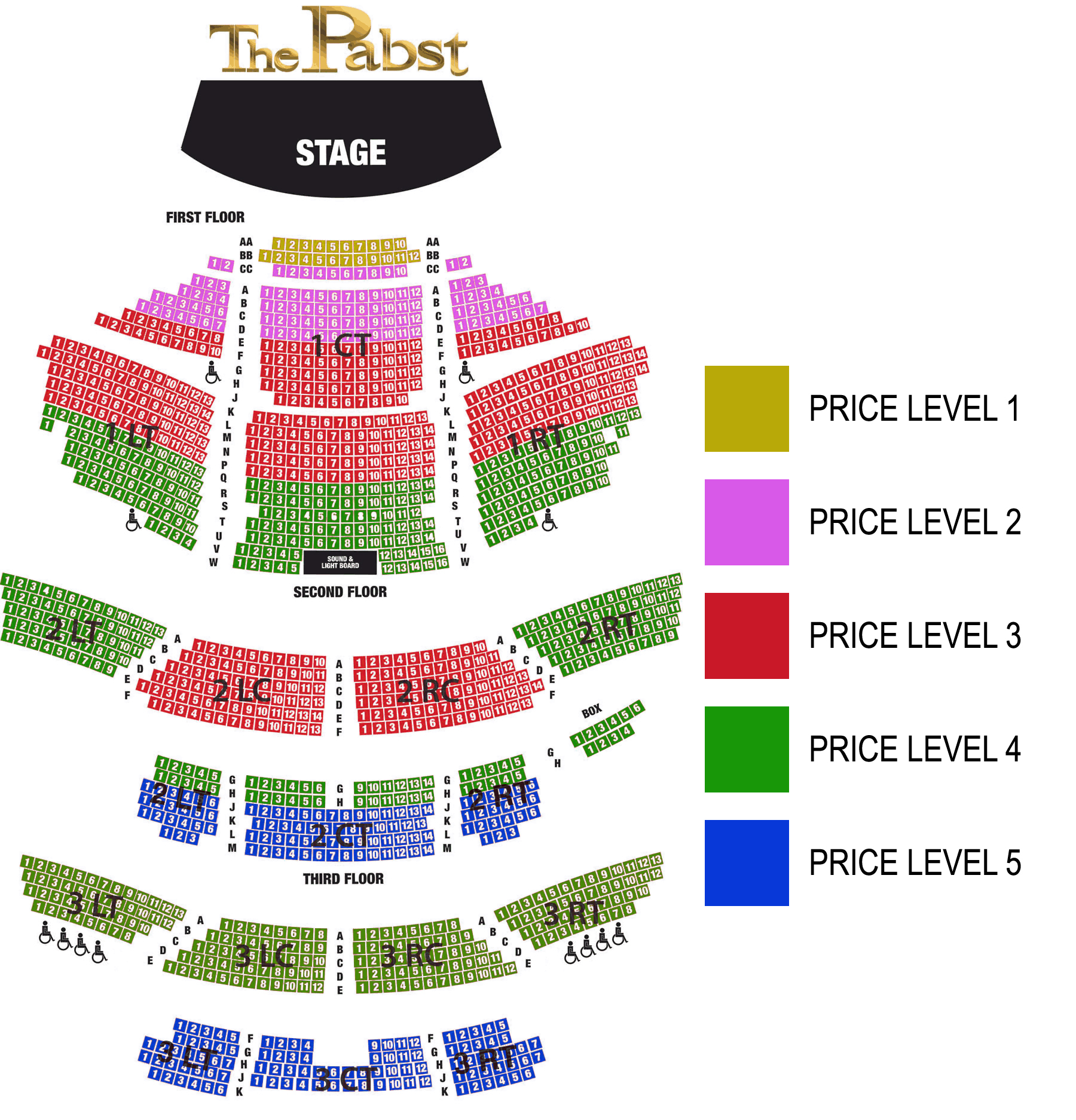 Pabst Theater Seating Chart seating 2017season8thequeens tickets