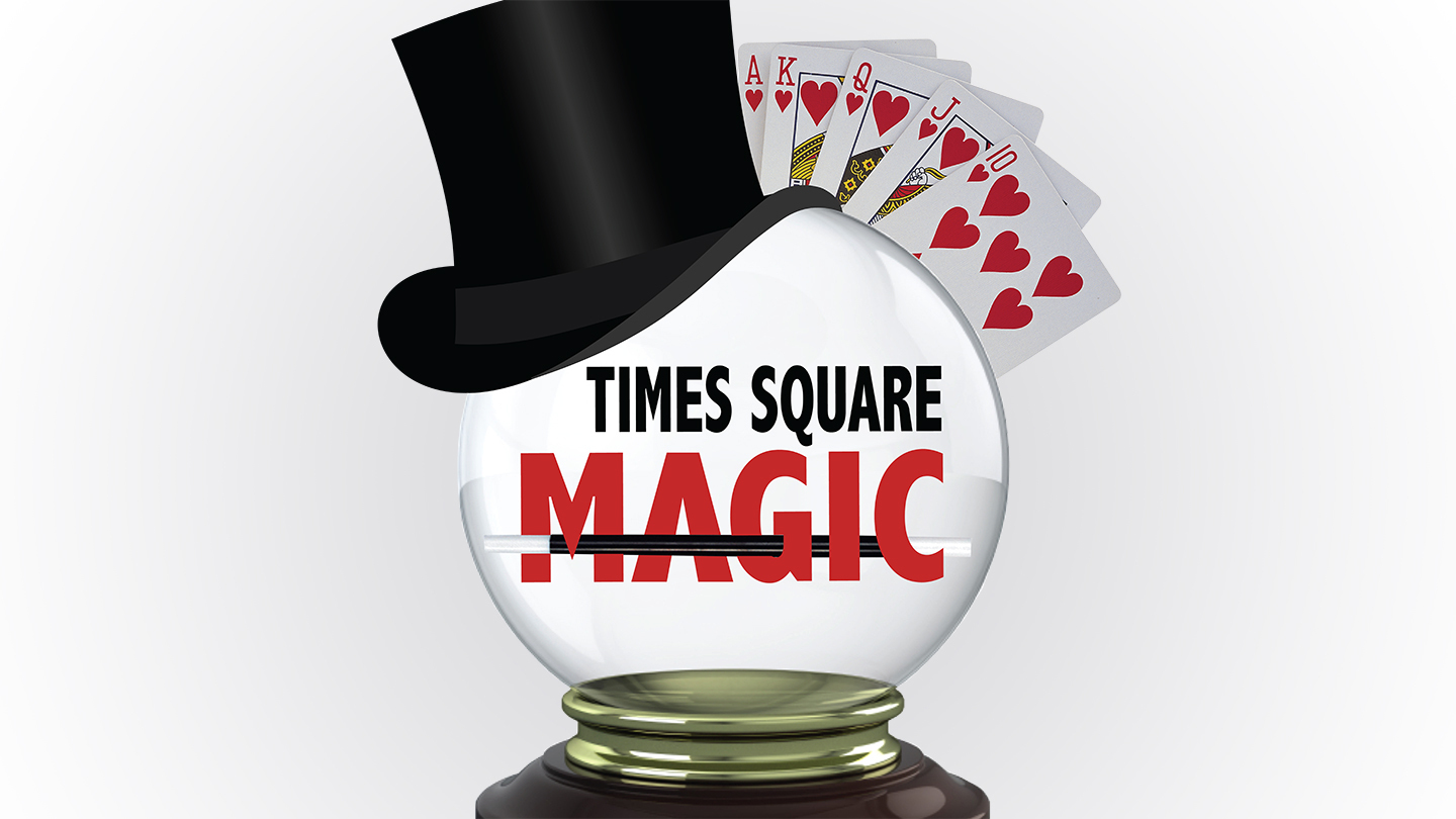 """Times Square Magic"": Mind-Reading, Illusions, Comedy & More"