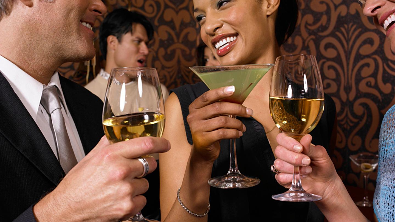 Singles wine tasting