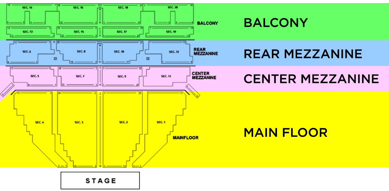 Music Hall Center Detroit Mi Tickets Schedule Seating Charts