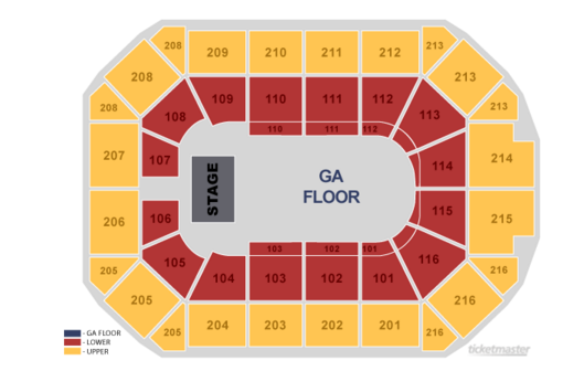 Allstate arena rosemont il tickets schedule seating charts