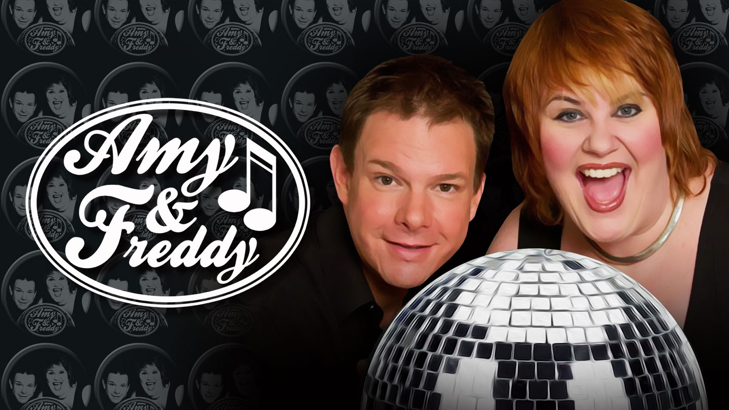 Amy & Freddy: A Dynamic Duo of Comedic Cabaret $12.50 - $22.50 ($25 value)