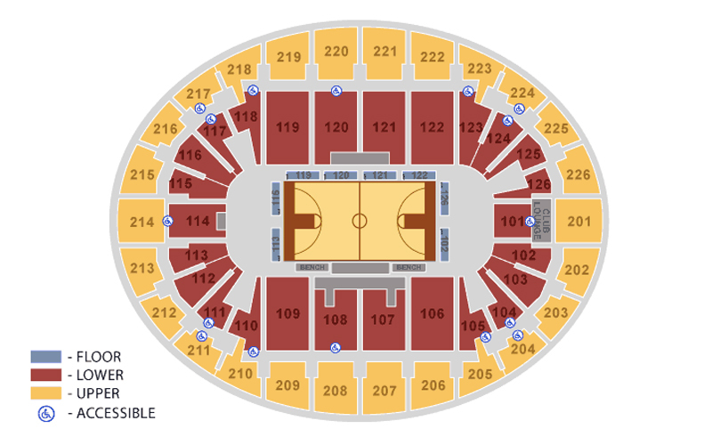 Snhu arena manchester tickets schedule seating charts goldstar