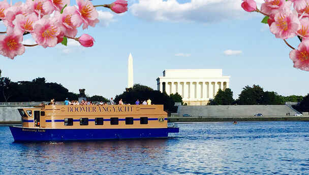 Cherry Blossom Cruise on the Potomac River