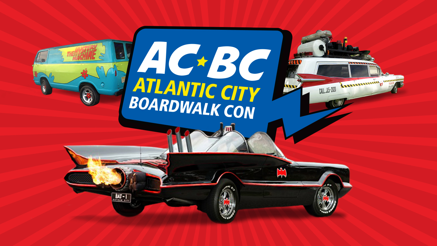Stars, Cars and 3 Days of Fun at the Atlantic City Boardwalk Con COMP - $17.50 ($30 value)