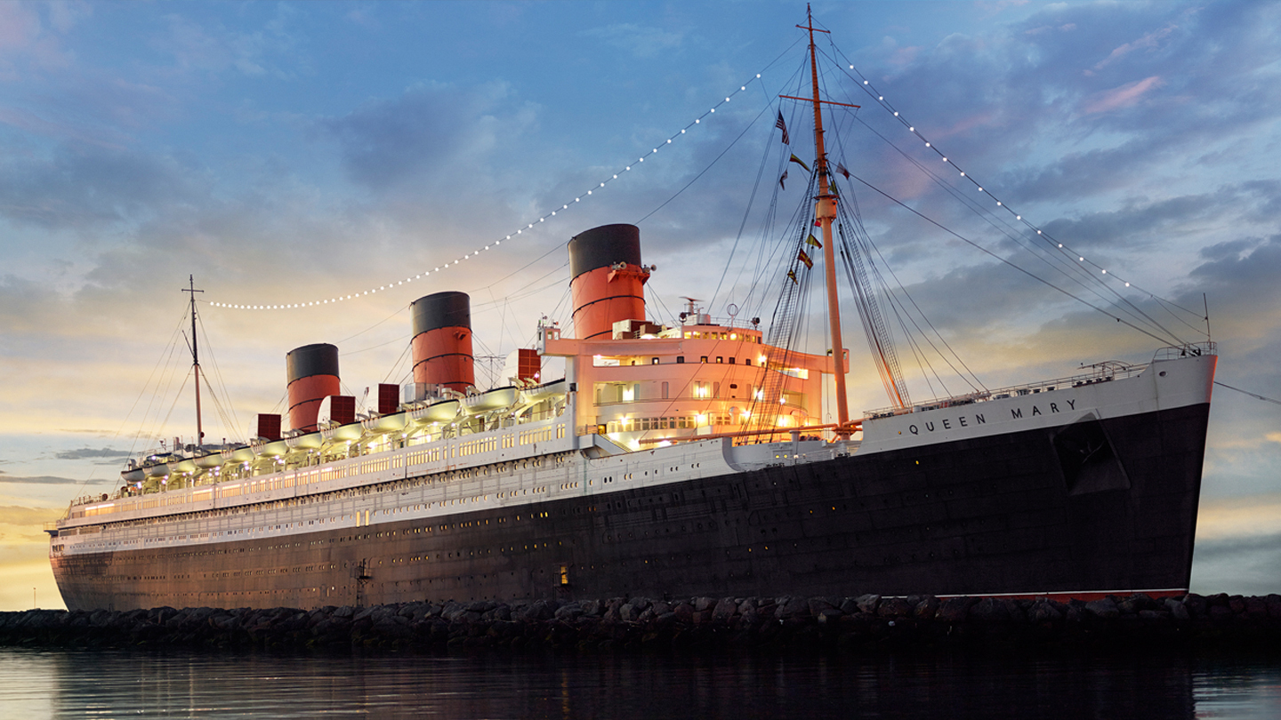 Come Aboard All Year With the Queen Mary Locals' Pass Program $15.00 ($25 value)