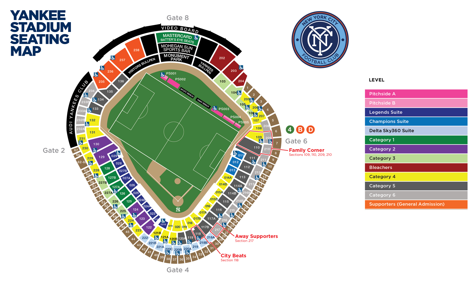 Yankee stadium new york tickets schedule seating charts goldstar