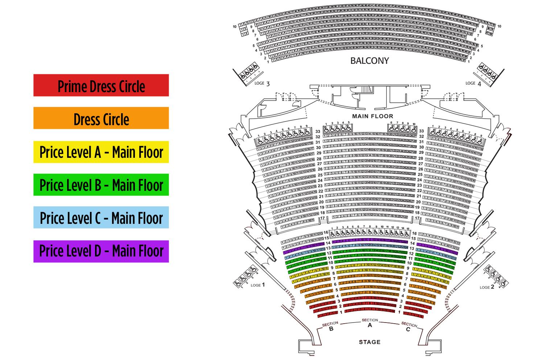 Phoenix symphony hall phoenix tickets schedule seating charts